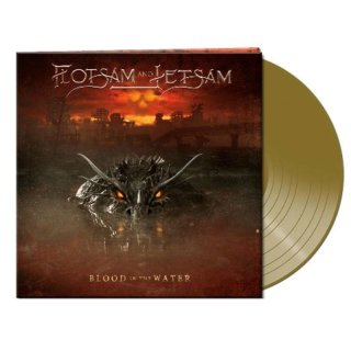 FLOTSAM AND JETSAM- Blood In The Water LIM.100 GOLD VINYL