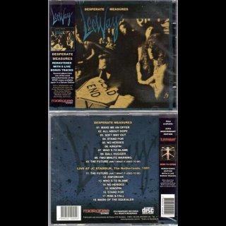 LEEWAY- Desperate Measures LIM.CD +8 Bonustracks