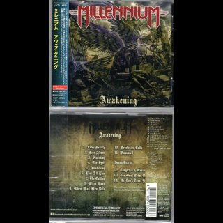 MILLENNIUM- Awakening RARE JAPAN CD +3 Bonustracks
