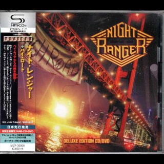 NIGHT RANGER- High Road RARE JAPAN SHM CD +DVD