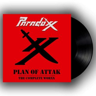PARADOXX- Plan Of Attak-The Complete Worxx LIM. BLACK VINYL