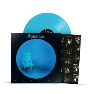 SAVATAGE- Sirens LIM. TURQUOISE BLUE VINYL