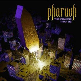 PHARAOH- The Powers That Be LIM. BLACK VINYL +DL Code