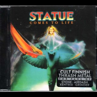 STATUE- Comes To Life LIM. CD RE-ISSUE